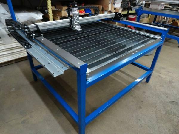 New 4x4 Cnc Plasma Cutter Table W Bladerunner Controls
