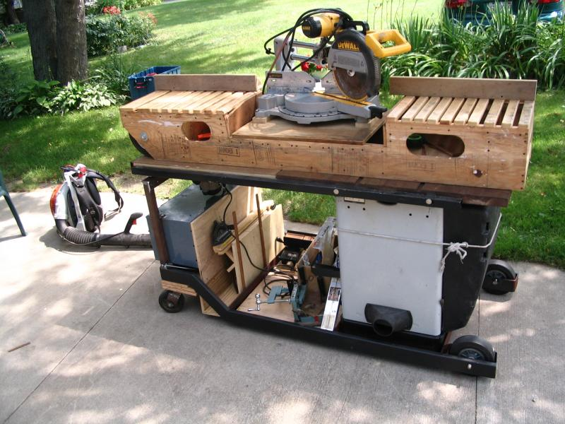 Rolling Table Saw Stand Pirate4x4 Com 4x4 And Off Road