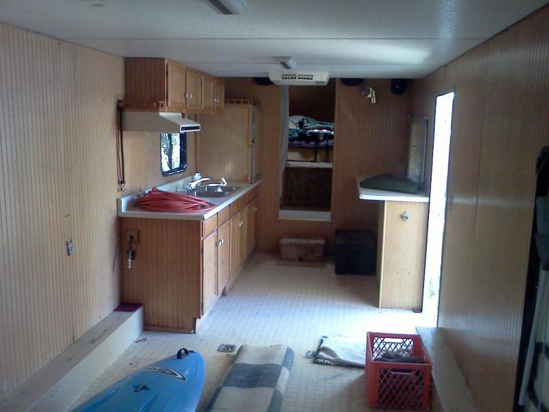 Towing And Living With Enclosed Trailers W Living