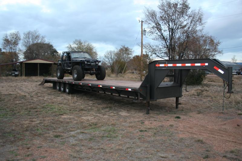 40 Gooseneck 2009 3 Car Hauler 4x4 And Off