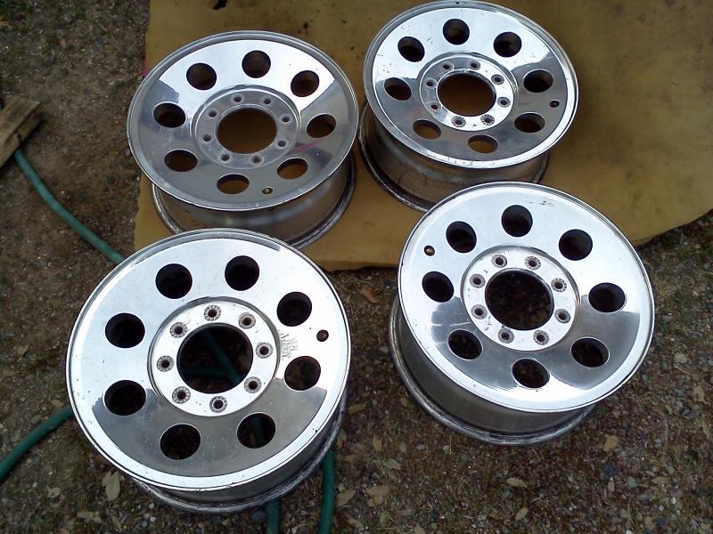 17 8 lug wheels