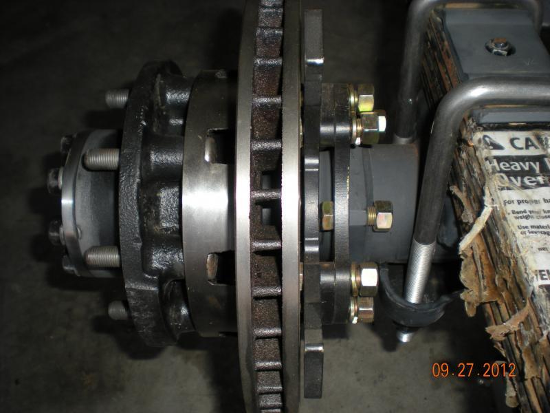 14 bolt Disc brake clearance trouble - Pirate4x4 Com : 4x4