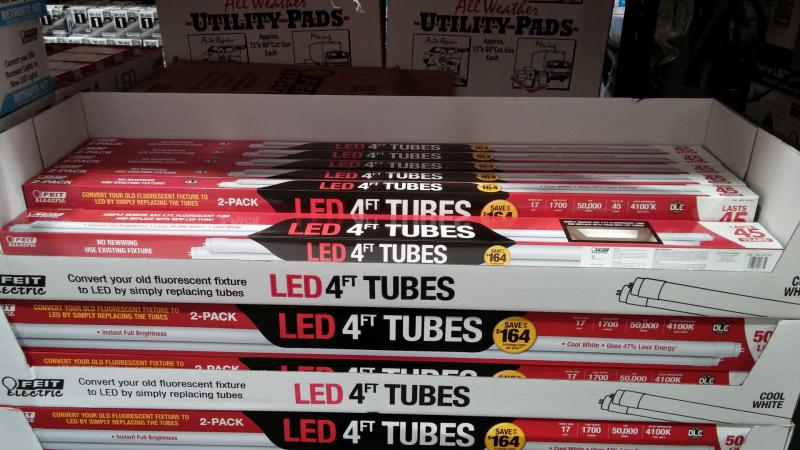 High Quality Costco Sells LED T8/t12 Led Tubes...anyone Use Them Yet?   The Garage  Journal Board