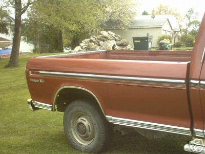 Factory bobbed 73 79 ford truck Pirate4x4 4x4 and f