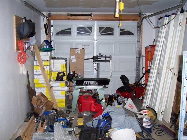Small Shop Garage Organization Thread