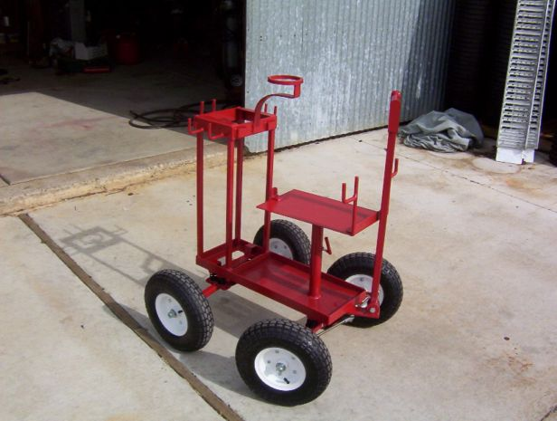 Homemade tool box storage ideas homemade free engine for Homemade fishing cart