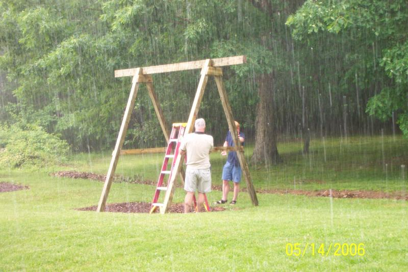Home Made Swing Set >> Homemade Swingset From What Pirate4x4 Com 4x4 And Off Road Forum