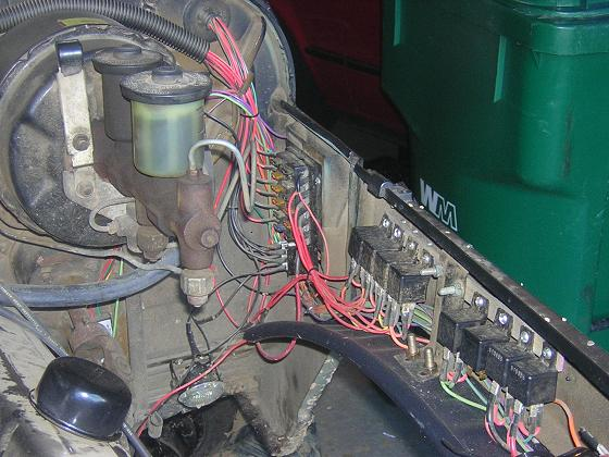Tech Project: Re-Wiring the FJ40 - Pirate4x4.Com : 4x4 and ... on