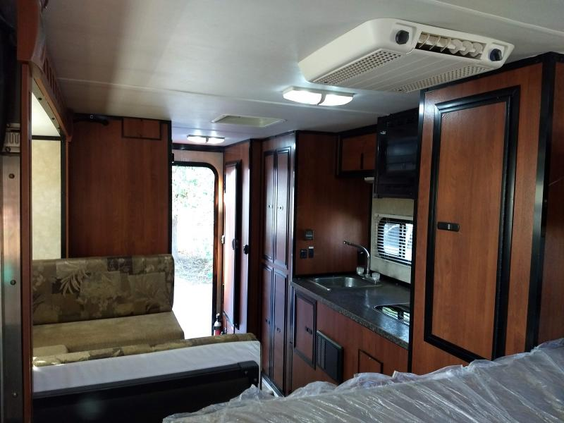 Gooseneck Trailer with 2013 Livin Lite Truck Camper $20,000