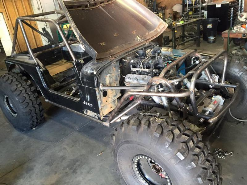 Wide Open Design Jeep Chassis
