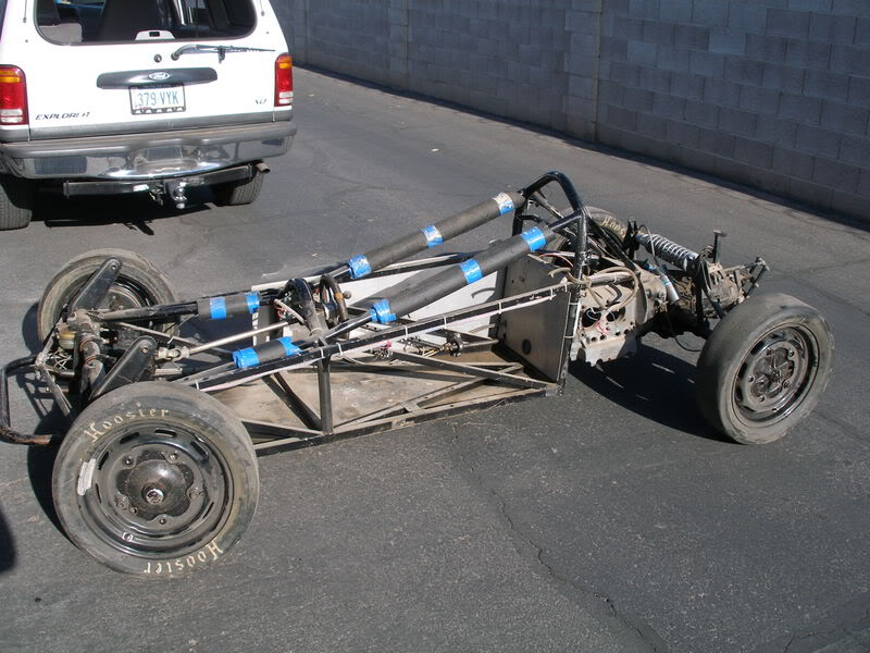 Anybody know of Vintage Formula Vee chassis plans