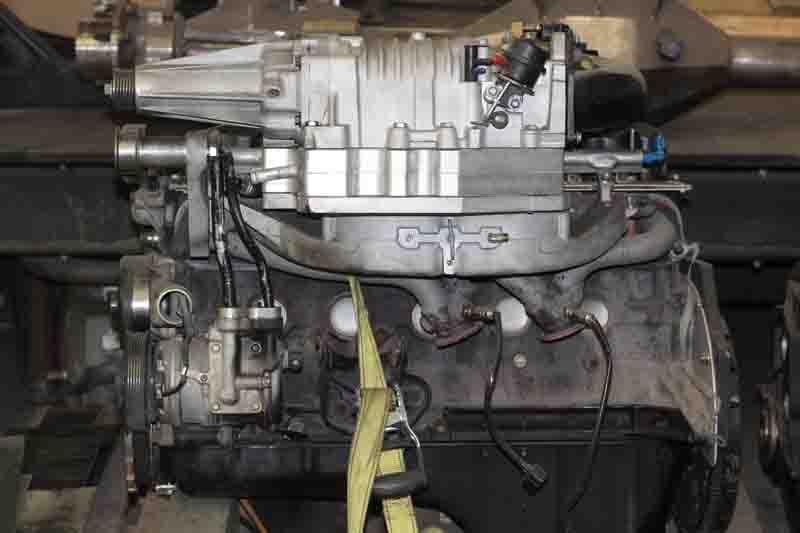 Jeep 4 0l Supercharger Setup Complete - Pirate4x4 Com : 4x4