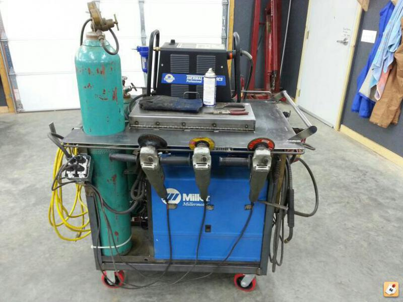 how to build a mig welding cart