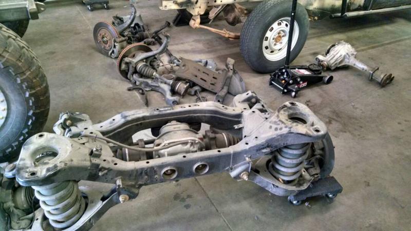 nissan armada rear suspension