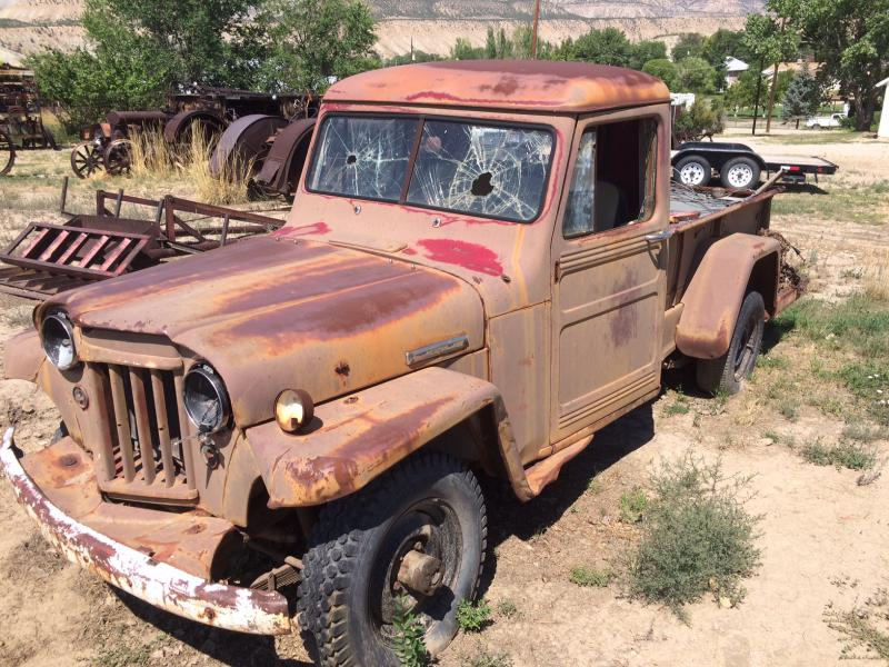 1954 Jeep Willys truck for sale - Pirate4x4.Com : 4x4 and ...