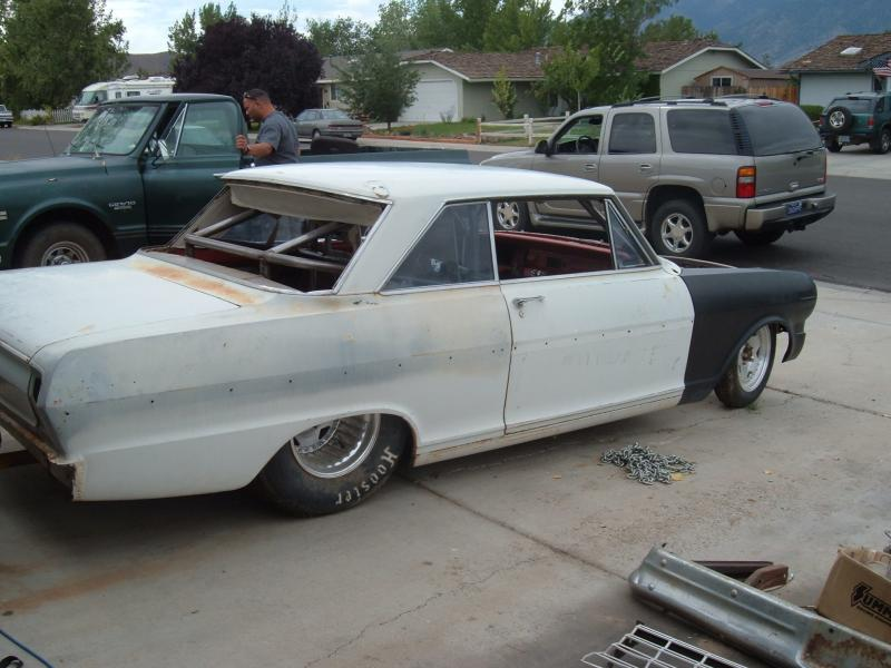 63 Chevy II Full Chassis, Tubbed, Race or Pro-Street - Pirate4x4 ...
