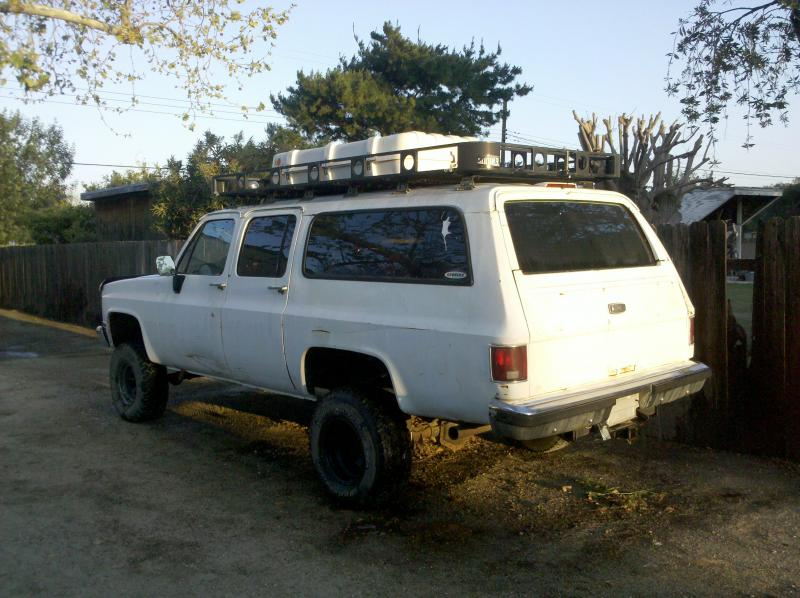 5 X10 Roof Rack From My Suburban Pirate4x4 Com