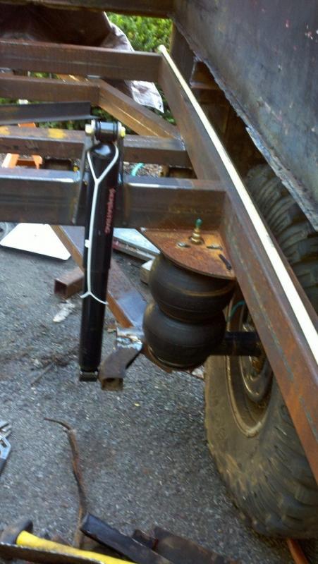 Axle Car Hauler