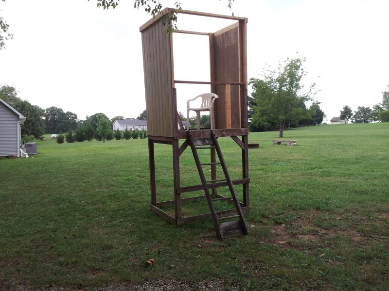 Elevated Shooting House Plans http://img1.pirate4x4.com/forum/outdoor-sports-recreation/1088796-redneck-elevated-shooting-house-build.html
