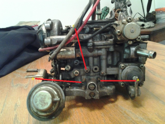 toyota 22r carburetor lots of pictures pirate4x4 com 4x4 and rh pirate4x4 com 22R Carb Top View Toyota 22R Carb Choke Diagram