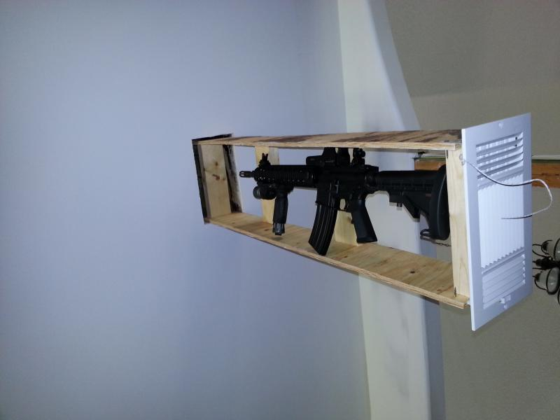 18 Awesome Hidden Gun Storage Solutions You Can Reach In