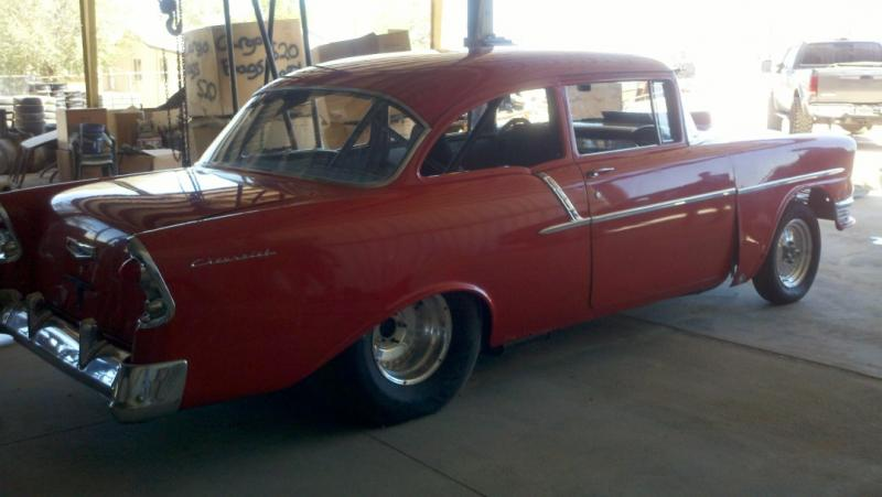 1956 Chevy Pro Street Project Roller For Sale | Autos Weblog