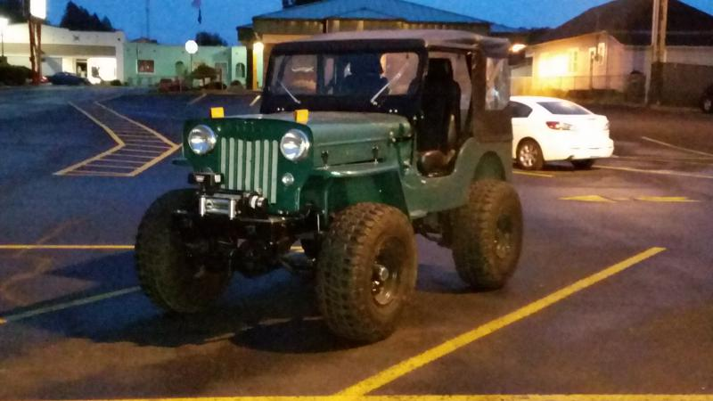 Sexy jeeps willys mb