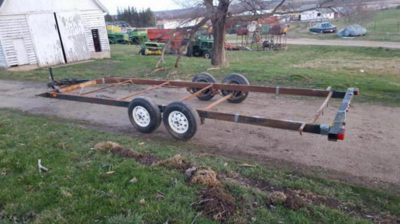 Car Hauler Bumper Pull Tilt Deck