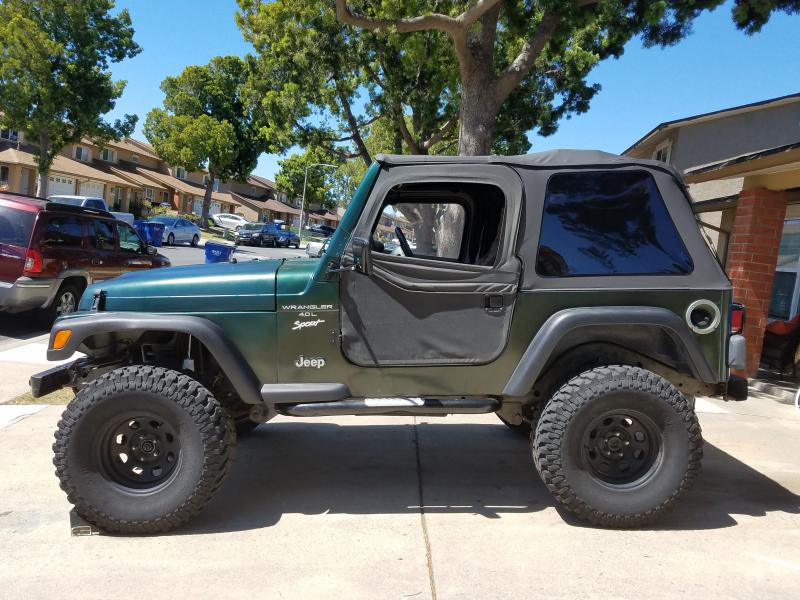 1997 jeep wrangler sport tj in socal pirate4x4 com 4x4 and off road forum. Black Bedroom Furniture Sets. Home Design Ideas