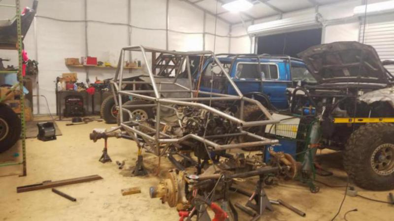 how to build a 4x4 off road buggy