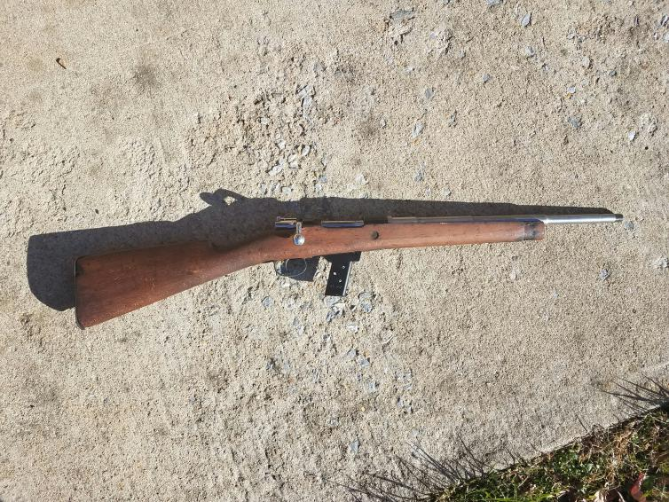 1916 Spanish Mauser converted to  45acp - Pirate4x4 Com