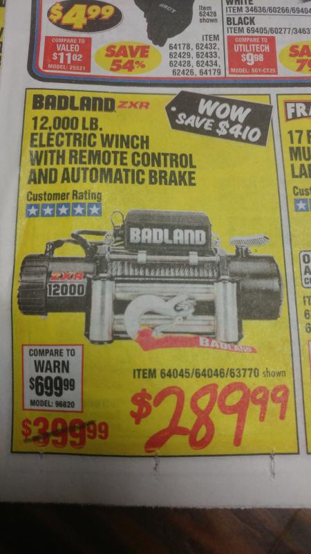 Badland winches - Harbor Freight? Are they junk? - Page 8