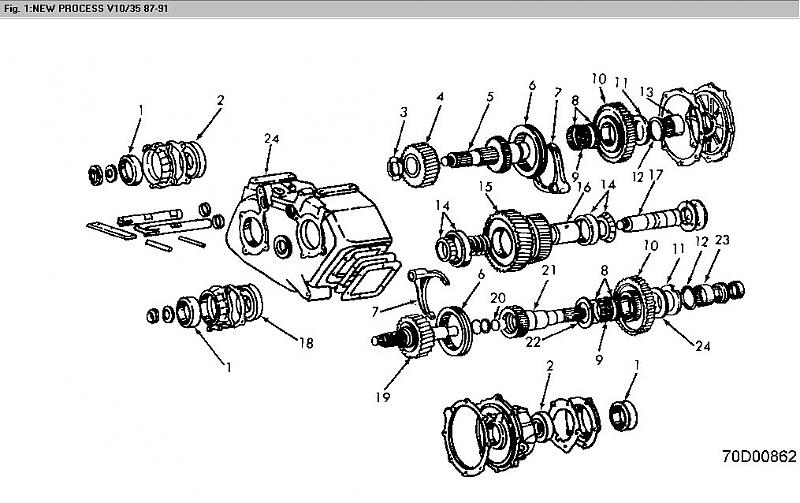 Ford Np205 Diagram Product Wiring Diagrams