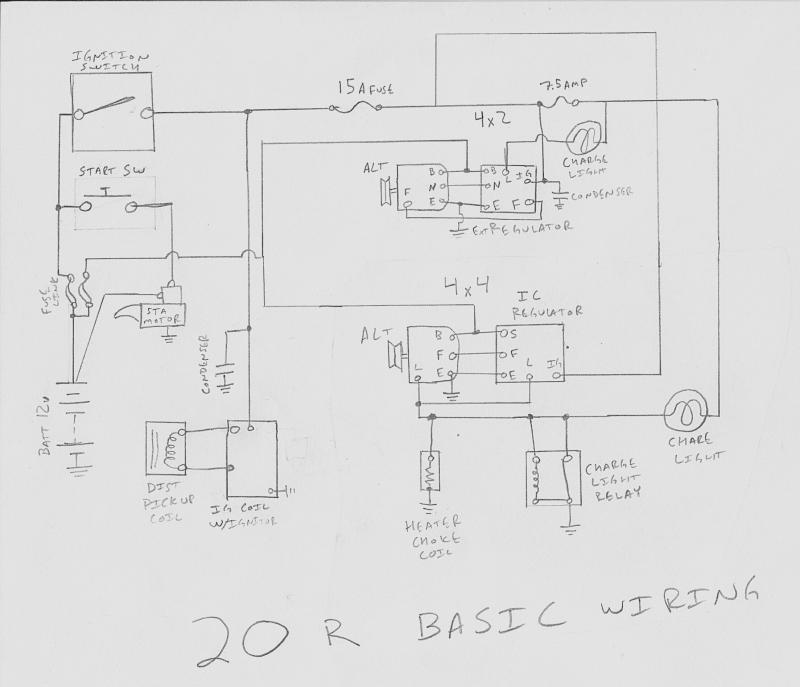 minimalist toyota engine wiring diagrams | pirate 4x4  pirate 4x4