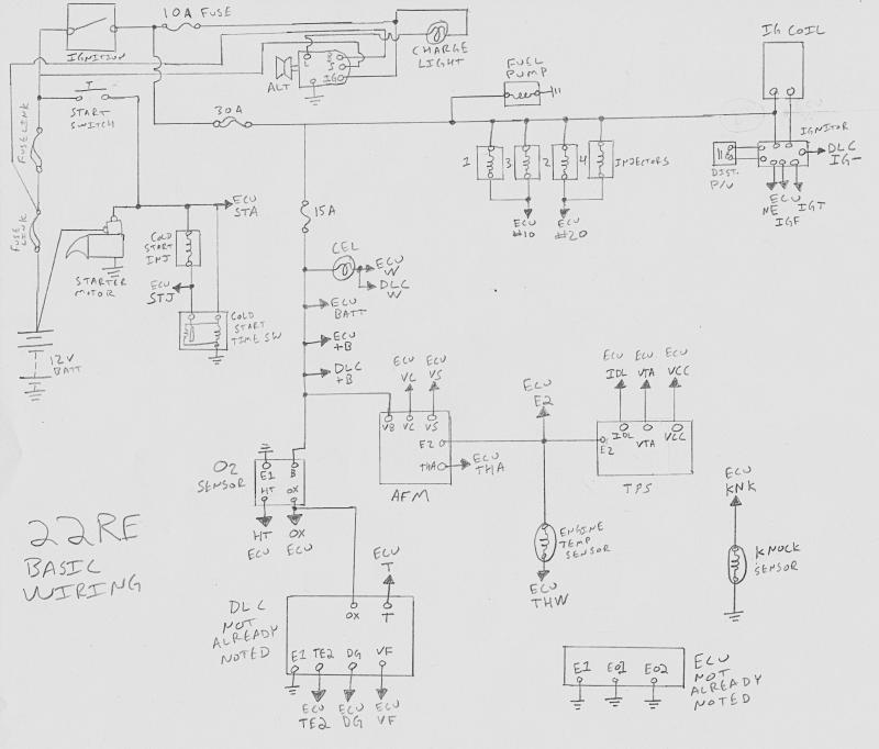 Toyota 22r Engine Wiring Diagram - Wiring Diagram