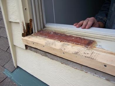 Rotten Window Sill Repair With Fibergl Pirate4x4 Com 4x4