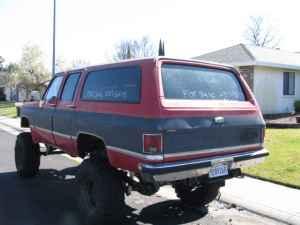 1988 Chevy Suburban 4x4  12
