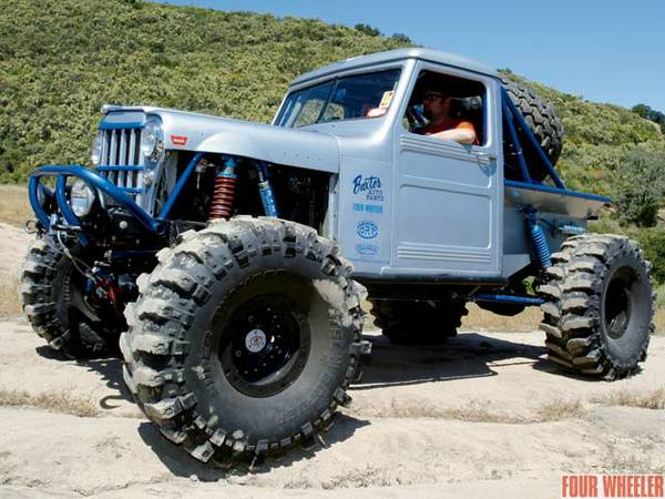 1955 Willys Rock Crawler Pirate4x4 Com 4x4 And Off