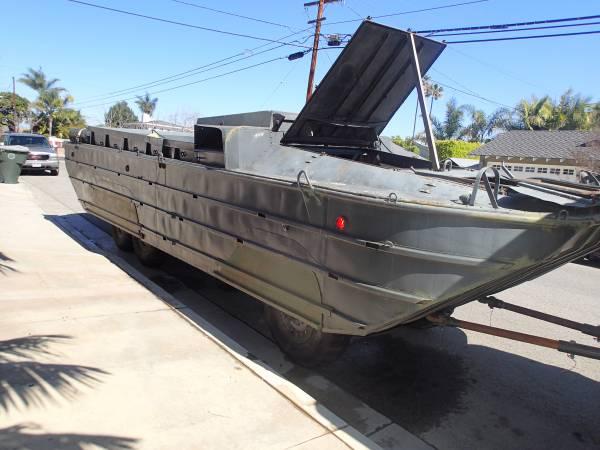 1942 Gmc Dukw Ww2 Amphibious 6x6 Military Truck Boat Wwii Rare