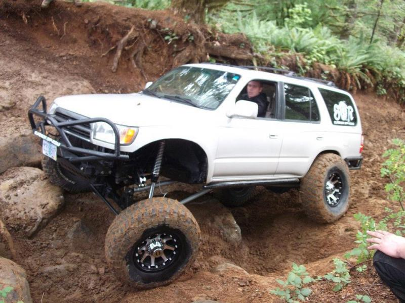 1998 Toyota 4runner SAS 3link/4link one ton done right