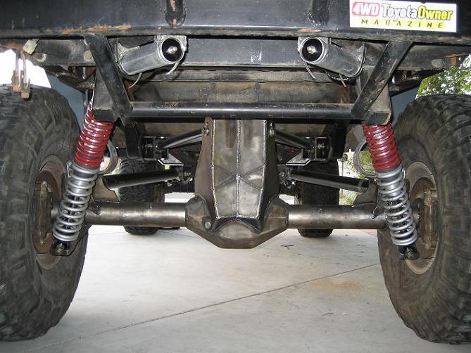 4wheel Underground Toyota 3link Amp 4link Suspension