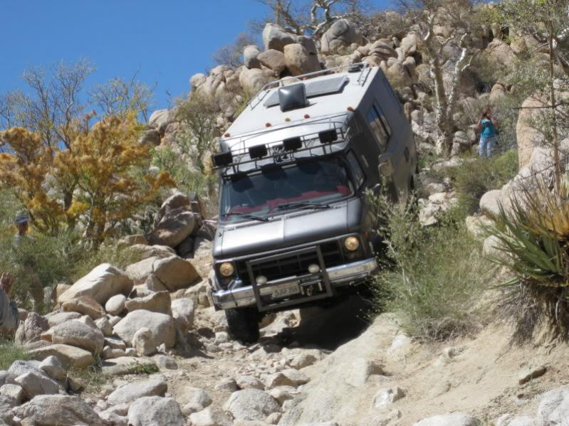 21 Ft All Terrain Class B Motorhome Complete Expedition