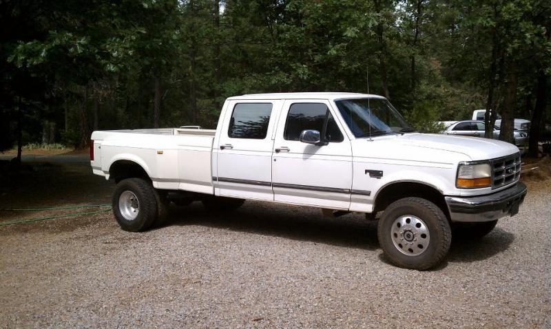 Ford F350 4 Door Extended Cab >> How much does a 94-97 OBS ford F250 7.3L 4x4 Extended cab Long bed weigh - Pirate4x4.Com : 4x4 ...
