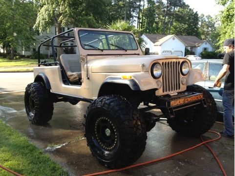 "Jeeps For Sale In Ga >> 86' 1TON cj7 custom 13"" tub/frame stretch CLEAN ..."