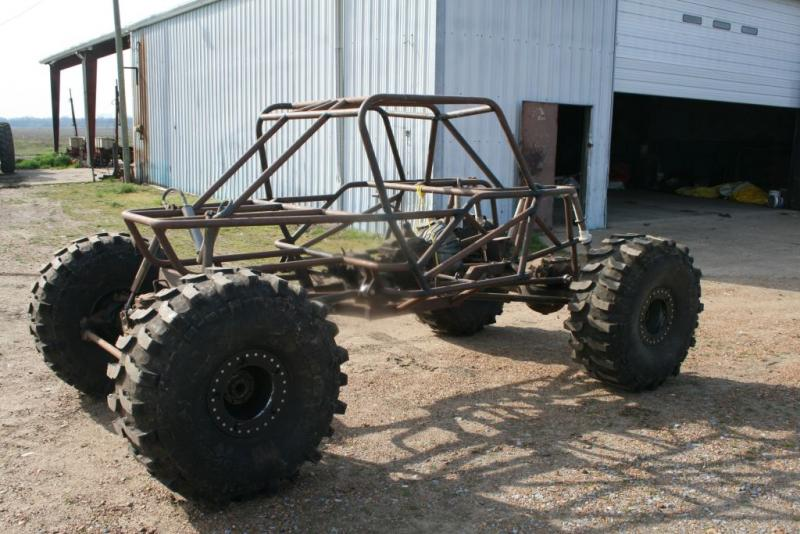 Rock Crawler Chassis : Tube chassis rock crawler pirate and off