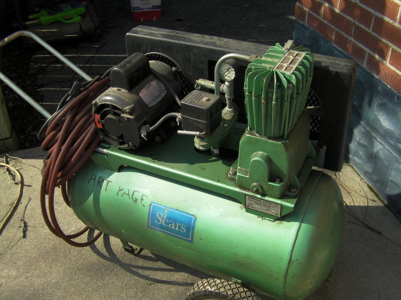 Old Sears Compressors Who Knows