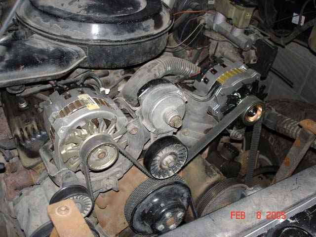 D Dual Alternator Single Belt Sbc