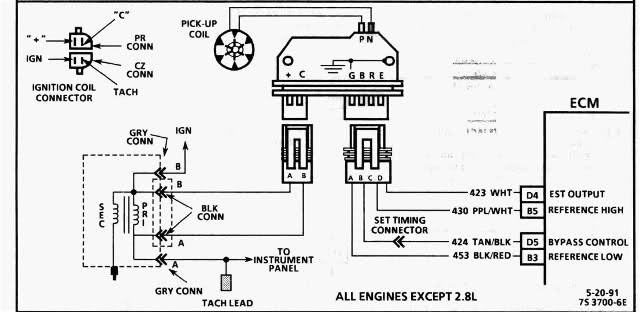 1745250d1430268385 broke stroker need some help few issues 88 gm ignition schematic 1990 est wire diagram diagram wiring diagrams for diy car repairs chevy ignition coil wiring diagram at bayanpartner.co