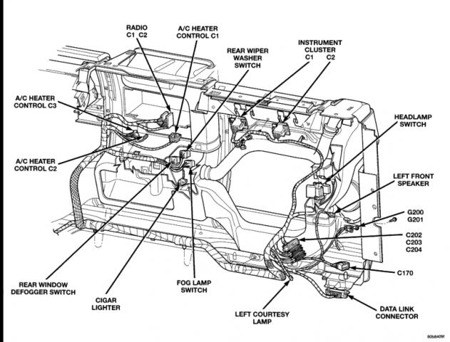 799329d1363615507 tj underdash obd port engine ip harness 8w 90figure13 tj underdash obd port engine or ip harness pirate4x4 com 4x4 jeep tj wiring harness diagram at readyjetset.co