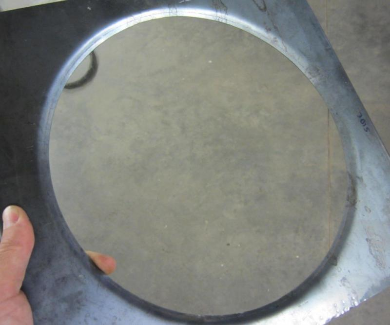 How To Flange Large Sheetmetal Hole Pirate4x4 Com 4x4
